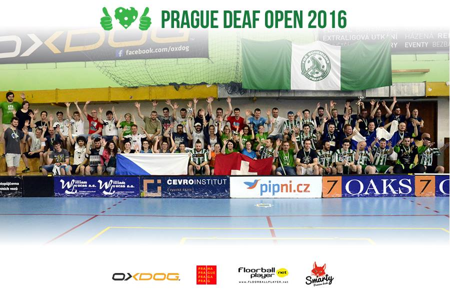 Hero Helsinki are the first winners of Prague Deaf Open
